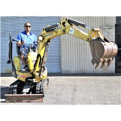 Yanmar SV08 Compact Mini Excavator (Starts, Runs, Works, No Known Problems - See Video)