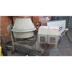 Towable Cement Mixer w/ Honda GX240 Motor