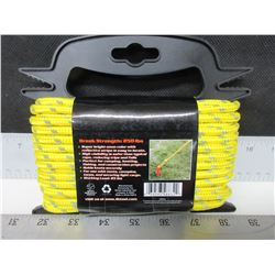"""New 50 foot 1/4"""" reflective Rope / great for tents , canopies , tarps , secure light cargo"""