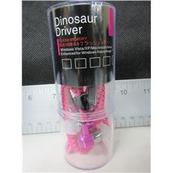 New Dinosaur Driver Zipper Headphones