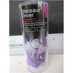 New Dinosaur Driver Zipper Headphones