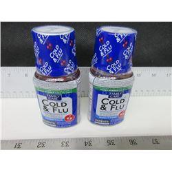 New Cold & Flu Nighttime 4 floz Cherry flavor / Factory sealed 04/2019.