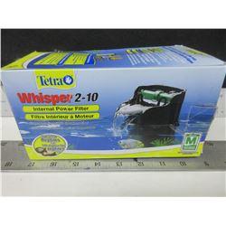New Tetra Whisper 2-10 gallon aquariums / Ideal for Reptiles too!