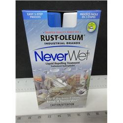 Rust-Oleum Never Wet liquid repelling treatment / keep water , mud , ice &