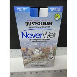 Rust-Oleum Never Wet liquid repelling treatment / keep water , mud , ice &