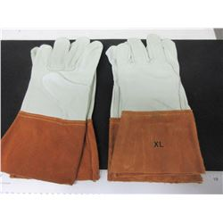 2 New Pairs of Welding Mig/Tig Gloves / soft top grain Leather size XL
