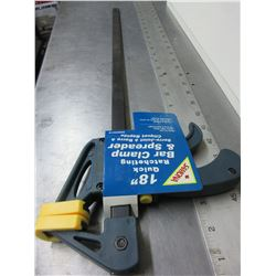 "New 18"" Quick Ratcheting Bar Clamp and Spreader"