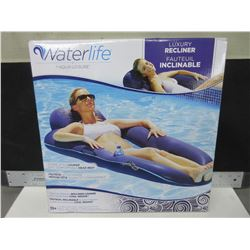 Waterlife Chaise style Lounger with Headrest / great for the pool or lake