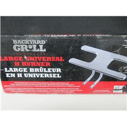 Backyard Grill Stainlees Steel Universal replacement Burner / Large