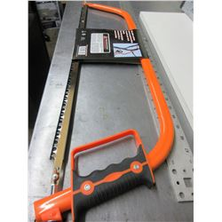 New Professional Bow Saw / 30 inch Carbon Steel Construction