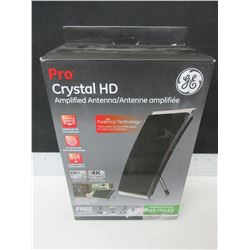 New GE Pro Crystal HD Amplified Antenne / get FREE Local TV