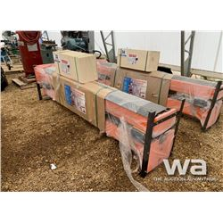 HEAVY DUTY 10,000 LB TWO POST AUTO LIFT
