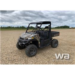 2014 POLARIS RANGER 900XP SIDE BY SIDE ATV