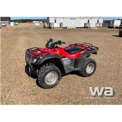 2004 HONDA 400 FOURTRAX ATV