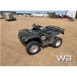 2006 HONDA TRX500 ATV