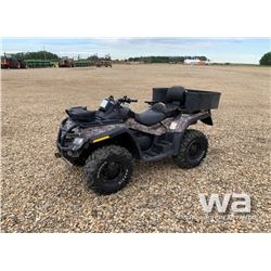 2011 CAN AM 800 MAX XT ATV