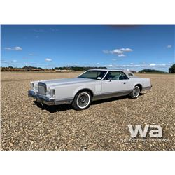 1977 LINCOLN MARK V CARTIER SPECIAL ED CLASSIC CAR