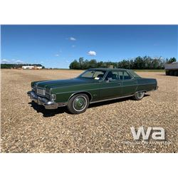 1973 FORD MERCURY MARQUIS CLASSIC CAR