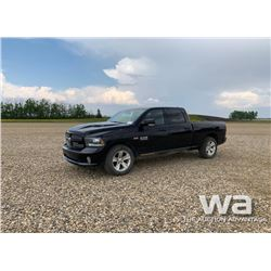 2014 DODGE RAM 1500 CREWCAB PICKUP