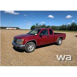 2004 GMC CANYON E-CAB PICKUP