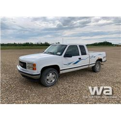 1998 GMC SIERRA 1500 E-CAB PICKUP