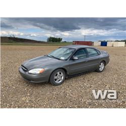 2001 FORD TAURUS 4-DOOR CAR