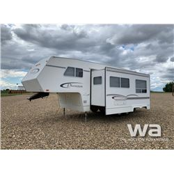 2002 FRONTIER PLAINSMAN 5TH WHEEL TRAVEL TRAILER