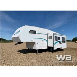 2001 FRONTIER 5TH WHEEL TRAVEL TRAILER