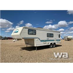 1994 TRAVELAIRE CITATION 5TH WHEEL TRAVEL TRAILER