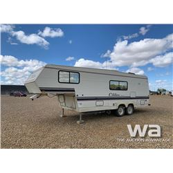 1990 CITATION 5TH WHEEL TRAVEL TRAILER