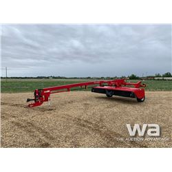 2012 MF HESSTON 1375 15 FT. HYDRA SWING DISCBINE