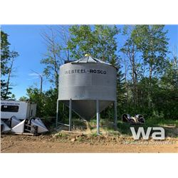 WESTEEL ROSCO 3 RING HOPPER GRAIN BIN