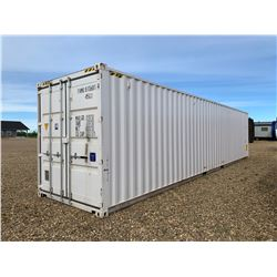 2019 ONE WAY 8 X 40 FT. SHIPPING CONTAINER