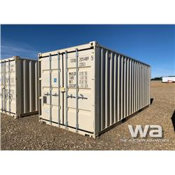 2014 ONE WAY 8 X 20 FT. SHIPPING CONTAINER