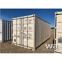 2015 ONE WAY 8 X 20 FT. SHIPPING CONTAINER