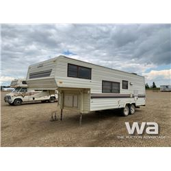 1989 WILDERNESS YUKON 5TH WHEEL TRAVEL TRAILER