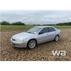 2003 HONDA ACCORD 4-DOOR CAR