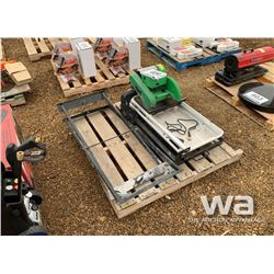 "SUPERIOR 10"" TILE SAW & STAND"
