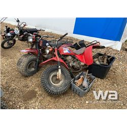 (2) HONDA 3 WHEELERS