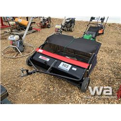 "SWISHER 48"" LAWN SWEEPER"