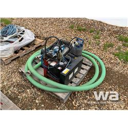 "PUMP AND 2"" HOSE"