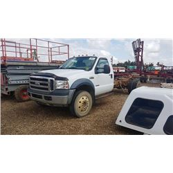 2007 FORD F550 CAB & CHASSIS TRUCK