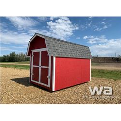 8 X 12 FT. HIP ROOF SHED