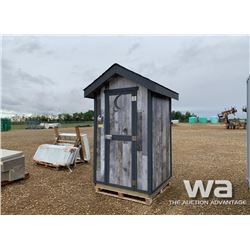 DOUBLE SEAT OUTHOUSE