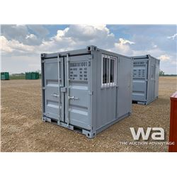 8 FT. STEEL STORAGE CONTAINER