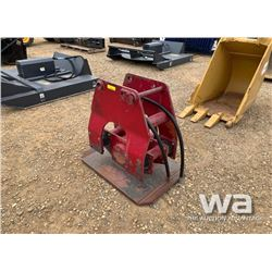 RED HYD. PLATE TAMPER