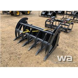 "66"" SKID STEER LOG GRAPPLE"