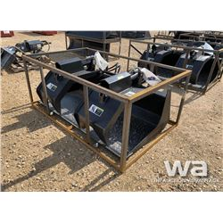 SKID STEER 72'' GRAPPLE BUCKET