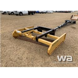 "ROAD BOSS 72"" SKID STEER BOX BLADE"