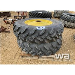 (2) GOODYEAR 20.8-38 TRACTOR TIRES